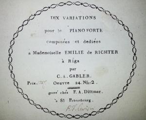 Dix Variations