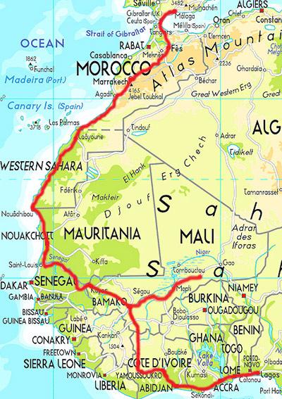 NorthWestAfrica