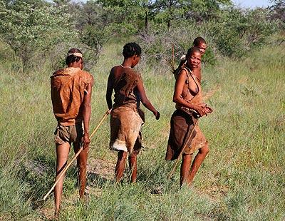 AfricaBotswanaBushmen