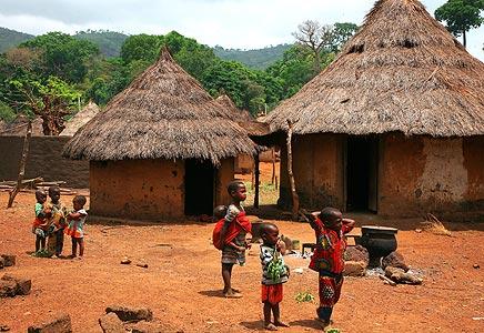 AfricaCoteDIvoireVillage