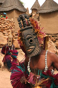 AfricaMaliDogonMask
