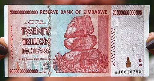AfricaZimbabweMoney