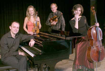 ERP artist Cristofori Piano Quartet