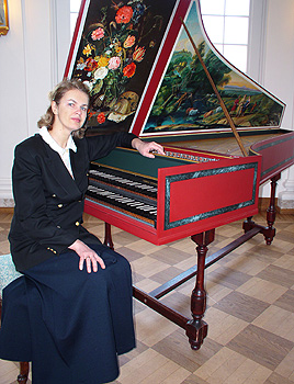 ERP artist Imbi Tarum. Harpsichord