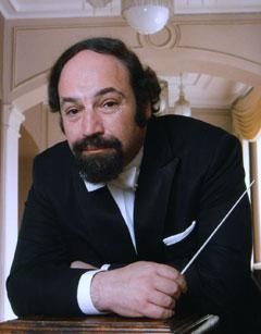 ERP artist Jüri Alperten. Conductor