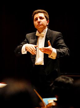 ERP artist Mikhail Leontyev. Conductor