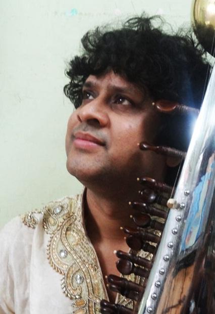 ERP artist Ranajit Sengupta. Sarode
