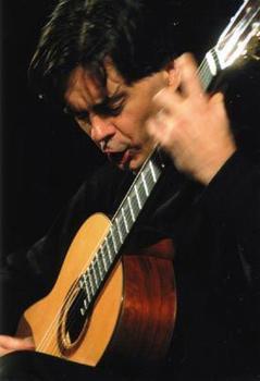 ERP artist Remi Boucher. Classical Guitarist