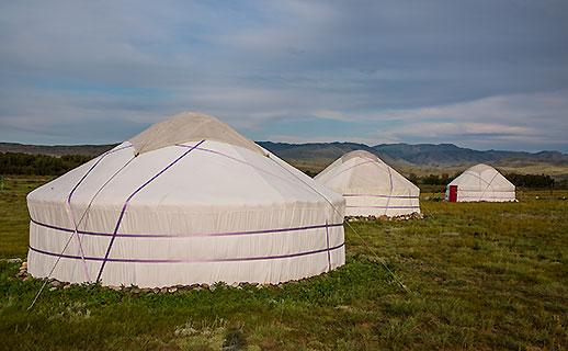 Tyva Yurts