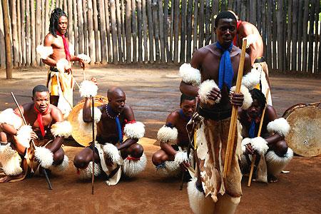 SwazilandWarriorsDance