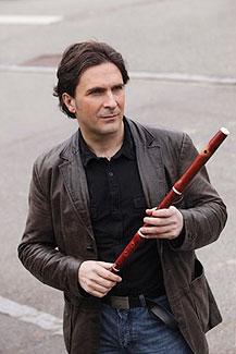 ERP artist Stephane Rety. Flautist