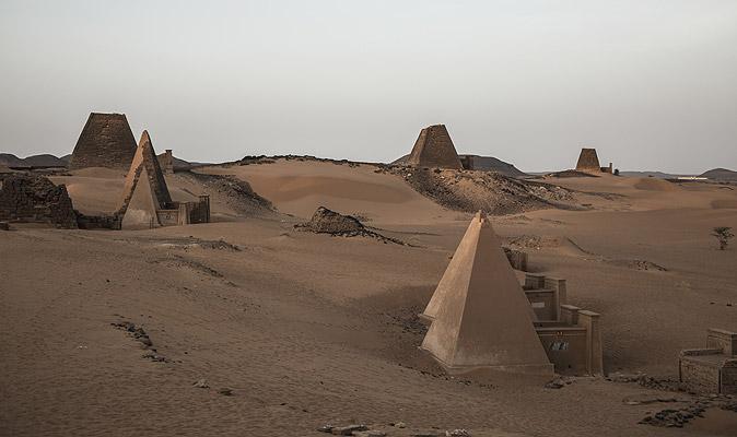 SudanMeroePyramids