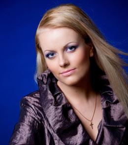 ERP artist Maria Veretenina. Soprano